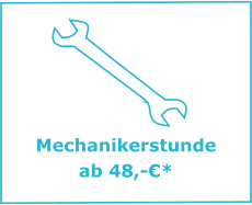 Mechanikerstunde   ab 48,-€*